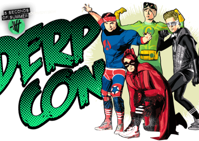 Eventology - 4 seconds of summer - Derp Con 2014