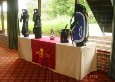 Eventology - Corporate events Team outings Golf Day - Woburn Golf Club